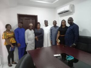 The Firm was pleased to have hosted the Registrar of Trade Marks and the top management team of the Nigerian Trade Marks Registry.